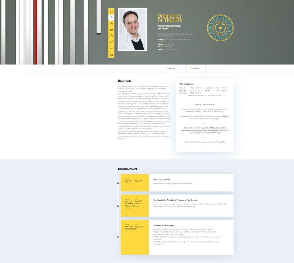 Webdesign für Ärzte in Wien